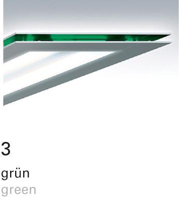 Licht im Format – Farbfilter 3 grün
