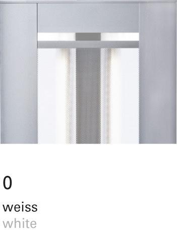 Licht im Format – INSPIRION Farbfilter 0 weiss