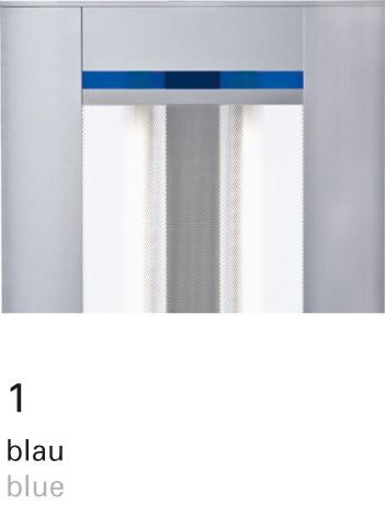 Licht im Format – INSPIRION Farbfilter 1 blau