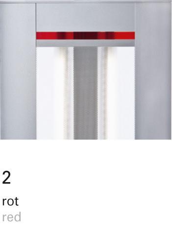 Licht im Format – INSPIRION Farbfilter 2 rot