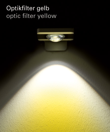 Optikfilter gelb