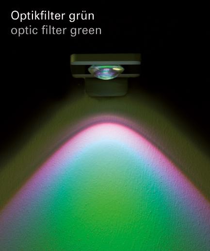 Optikfilter gruen