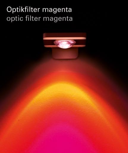 Optikfilter magenta