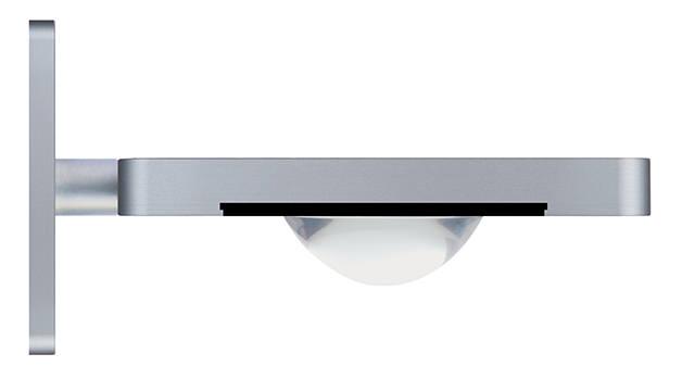 ONYXX.LED – DUAL 1 – Wandleuchte - Plankonvexlinse 50