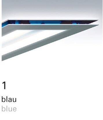 Licht im Format – Farbfilter 1 blau