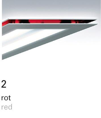 Licht im Format – Farbfilter 2 rot