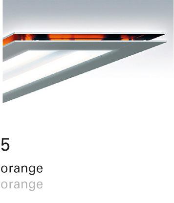 Licht im Format – Farbfilter 5 orange