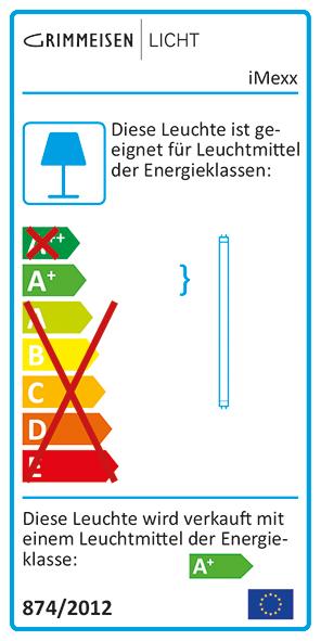EU Energielabel iMexx T5