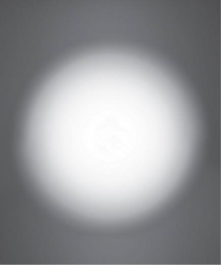 Lichtführung (Draufsicht) Plankonvexlinse 50°