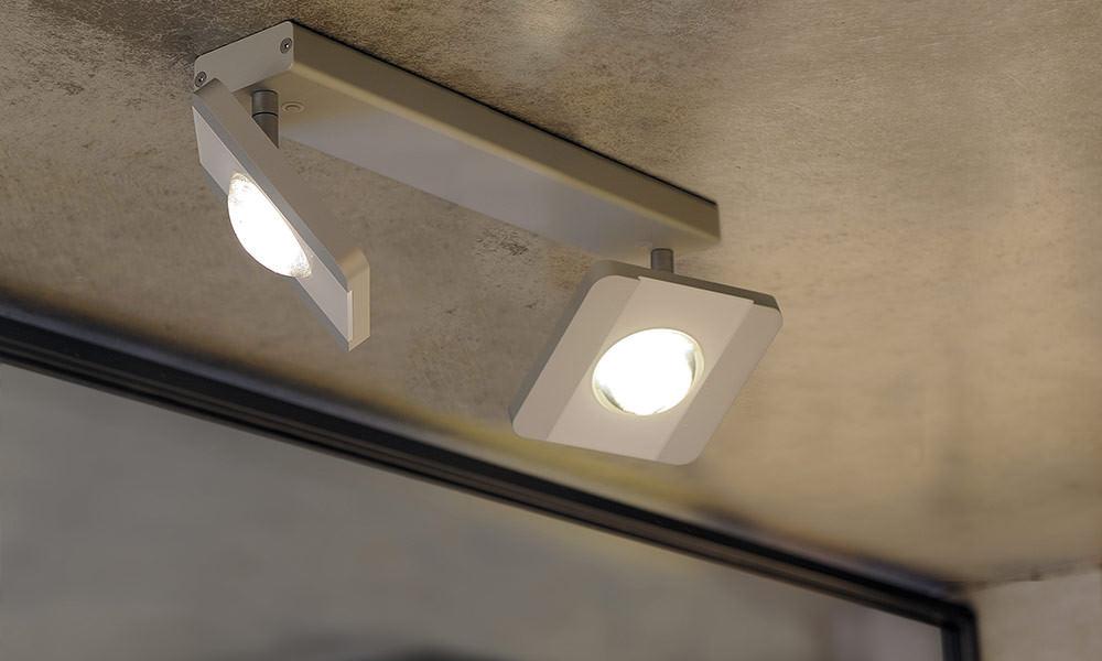 ONYXX.LED – SYSTEM 2 – Decken- und Wandleuchte