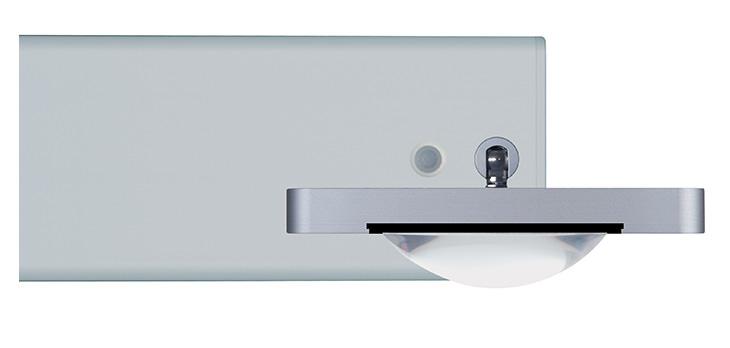 ONYXX.LED – SYSTEM 3 – Decken- und Wandleuchte – Plankonvexlinse 80