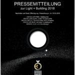 GRIMMEISEN LICHT PRESSEMITTEILUNG zur Light + Building 18.03.2018