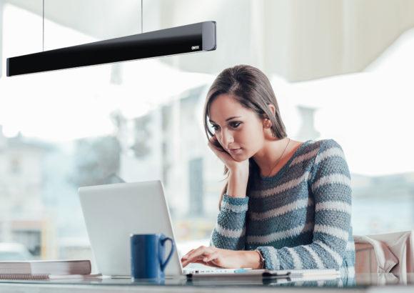 ONYXX LINEA - Pendelleuchte mit Linearem Licht im Büro
