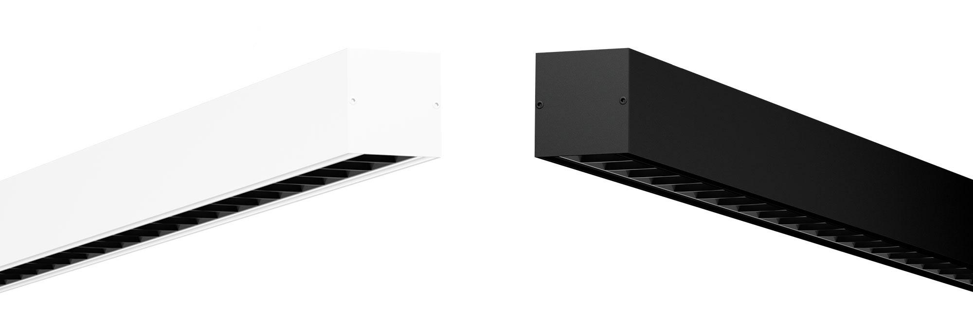 iMexx Free schwarz und weiß - Stehleuchte